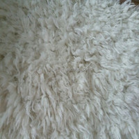 100 polyester curly sherpa fleece faux fur fabric for jacke lining