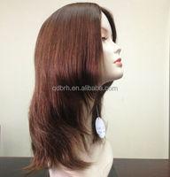 Wholesale European Virgin Human Hair Jewish Wigs in Stock