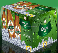customized cardboard beer barrel box, beer carton box, beer bottle box