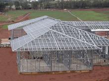 galvanized light steel frame house