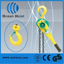 Hand lift equipment construct manual lever hoist