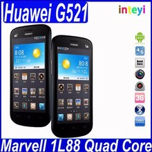 New Arrival China Cheap Smart Phone Huawei G521 4.5'' Quad Core Phone 4GB ROM GPS Android 4.2 4G Cell Phone