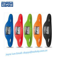 ZKY-0016 sports cheaper promotional young boys wrist watches negative ion fashion silicone wristband watch Custom Logo