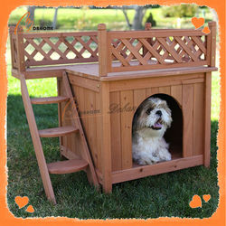 Large outdoor wholesale build wooden dog house