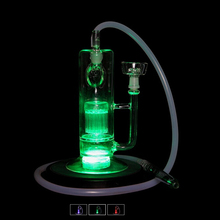 Submersible LED Hookah Stand, 2.8inch led light base, multi colors