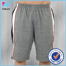 Yihao fashion custom men short core light swish grey heather sportose herren short