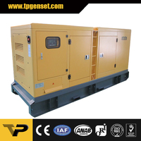 Noiseless water cooled diesel generator 220 kw 275 kva controlled by DSE 6020