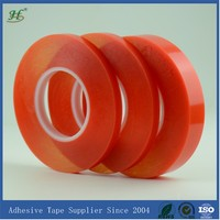 ISO9001 TESA EQUIVALENT 160C HEAT RESISTANT DOUBLE FACE POLYESTER ADHESIVE FILM ROLL