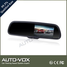 gps auto rearview mirror car monitor bluetooth mirror