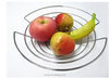 Chrome metal wire fruit basket