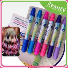 Tinte de pelo en polvo, H0T026 color temporal del pelo rub pelo pastel tiza