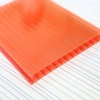 Two layers hollow polycarbonate cheap hard plastic sheet
