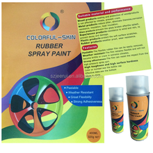 2015 new products colorful skin rubber paint for cars