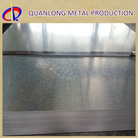 120g zinc coating galvanised steel plate 2mm thick