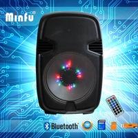 Pro Sound equipment audio bluetooth speaker with led light