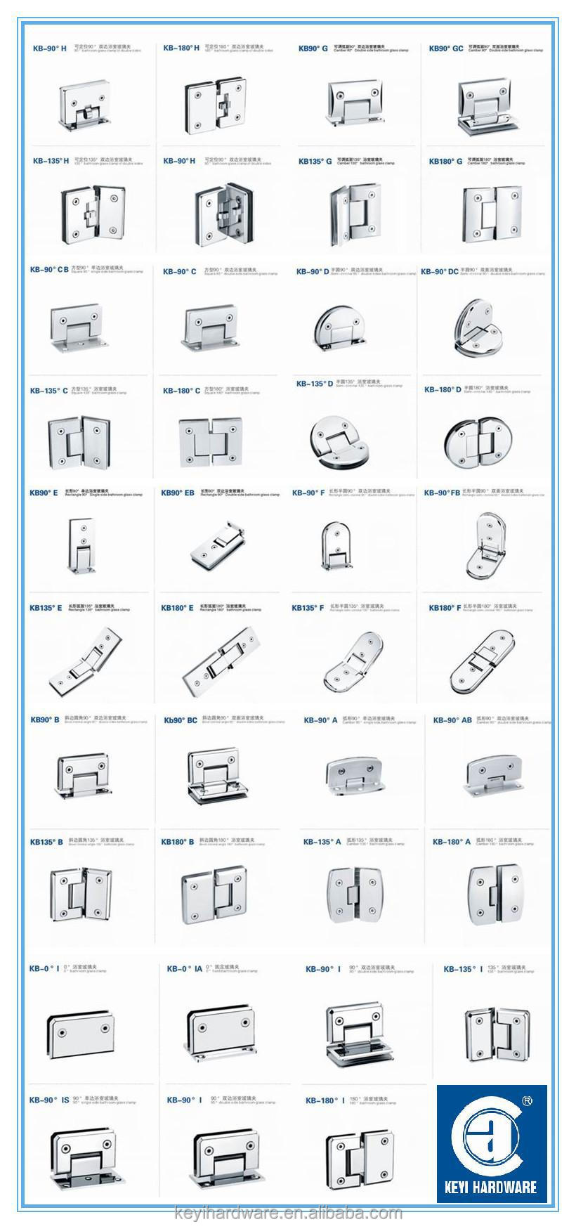 90 Degree Position Glass To Wall Shower Door Hinge China Buy Wall