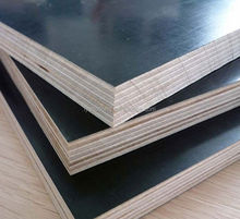 Shandong Linyi hot sale for hardwood core black film faced plywood
