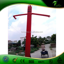 Guangzhou Custom Most Popular Red Inflatable Air Dancer /Inflatable Sky Man For Advertising