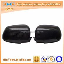 High Quality carbon fiber rear mirror Cover for Mitsubishi Lancer EVO 10th