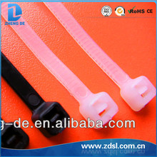 High Quanlity Hot Sales Self-locking Fabric Plastic Cable Tie