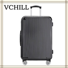 hot sale abs pc trolley case travel luggage bag and cases