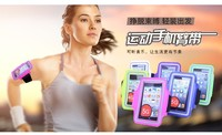 Cheap phone case running pvc screen mobile armband for sport use