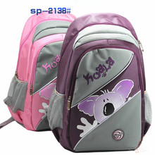 New 2015 high quality cute children Candy Color School Backpack
