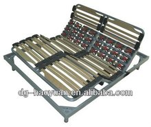 Wholesale Twin Slatted Wooden Electric Bed Bases Only