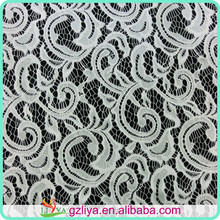 High quality 100% nylon african george guipure lace fabric wholesale 9670