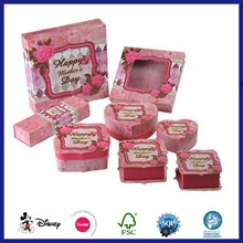Pink Nice Lady Party Favors Jewelry Box Set