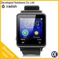 """Reloj de pulsera teléfono celular de 1.54 """"de pantalla táctil elegante barato Reloj Bluetooth del teléfono"""