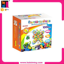 1000 PCS 3d puzzle diy toy educational manipulative toys intelligent diy magic corn starch toy