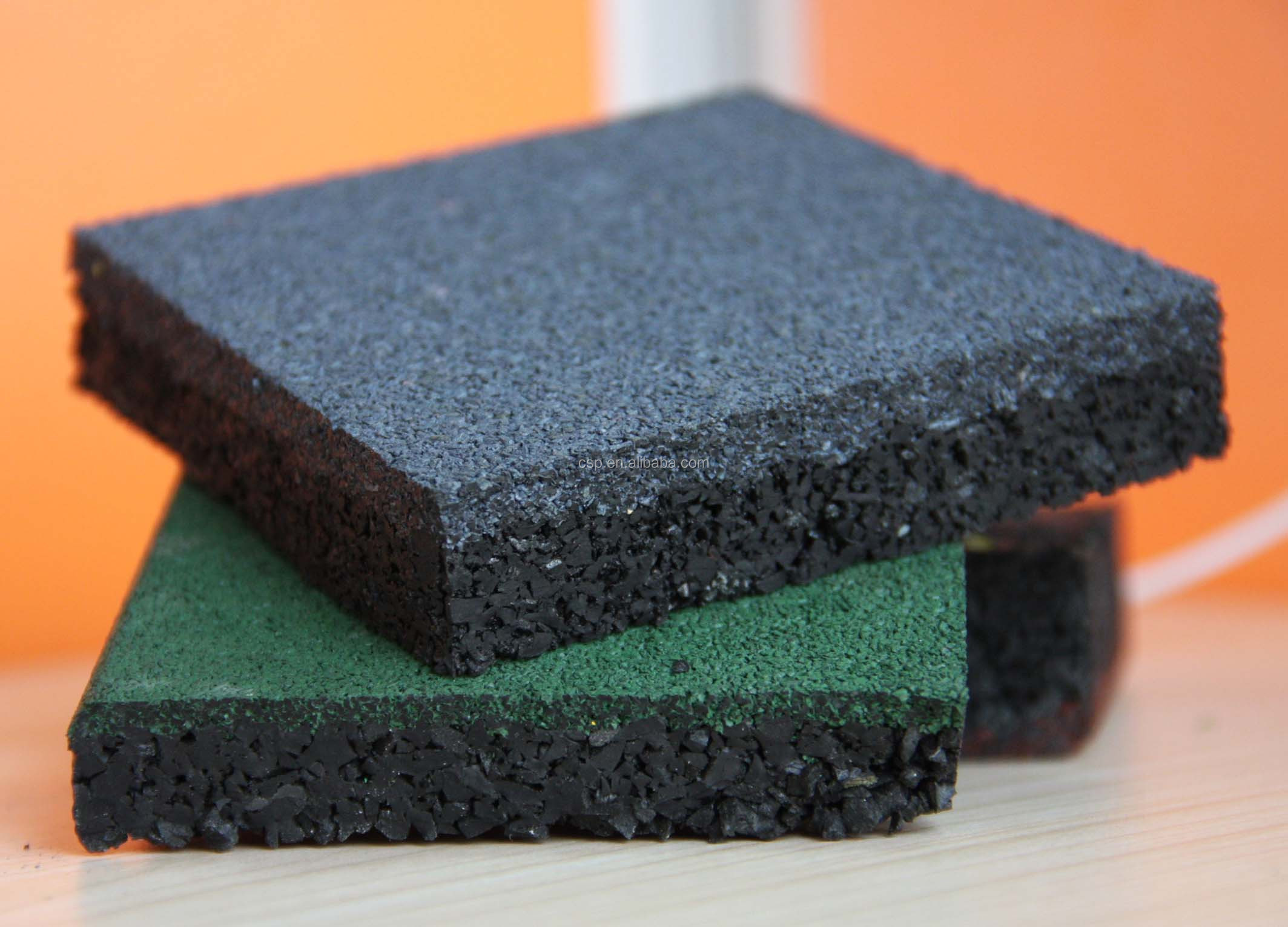 Outdoor Pathway Rubber Tile Price Of Crumb Rubber Rubber
