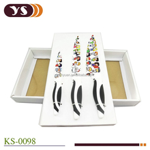 3 Piece Nonstick Coated Knife Set