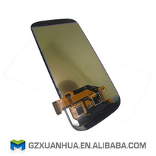 Wholesale supplier China mobile phone lcd display for Samsung s3 digitizer with frame assembly