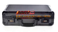 Strong high quality storage aluminum travel tool boxes with wheel