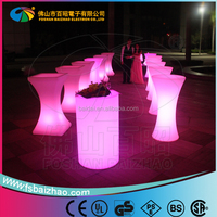 2015 Light up bar Table / Illuminated Led Table/Glowing Led Cocktail Table