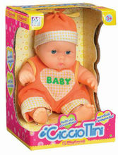 new adorable little boy fat ABS creative baby cute doll with EN71