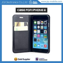 Factory Direct Supplying Flip Cover Foldable With Stand Case for iphone6 6 plus