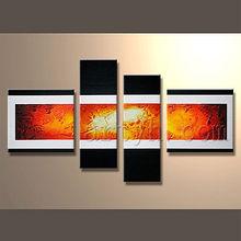 hot vender as artes da pintura moderna abstrata para a decoração