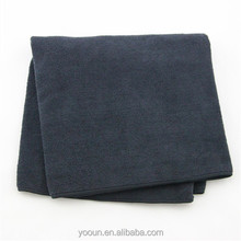 """40*40cm yellow black blue 16*16"""" microfiber cleaning cloth for car AZO free"""