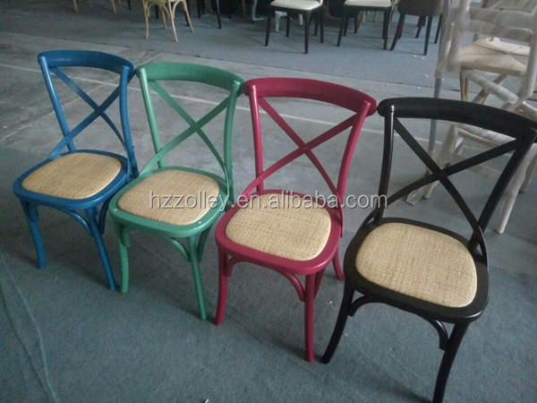 Industrial de la vendimia de madera de roble silla apilable x ...