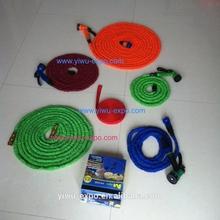 Carrete para manguera con rebobinado automático, manguera de agua con tubo flexible para lavado a presión, mangueras extensibles