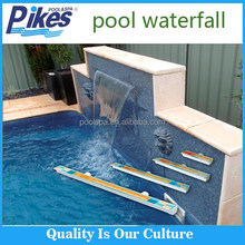 outdoor artificial waterfall/Dynamic water feature/swimming pool cascade
