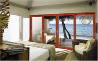 Aluminum Interior Glass Doors Double Tempered Glass Door/Used Sliding Glass Doors Sale