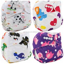 Ohbabyka OEM factory AIO design organic modern baby cloth diaper cloth diper