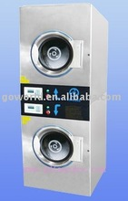 2*10kg electric heating laundry drying machine(washer,dryer,flatwork)