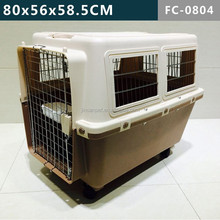 Extra Large Pet Dog Cat Crate Cage Kennel With Plastic