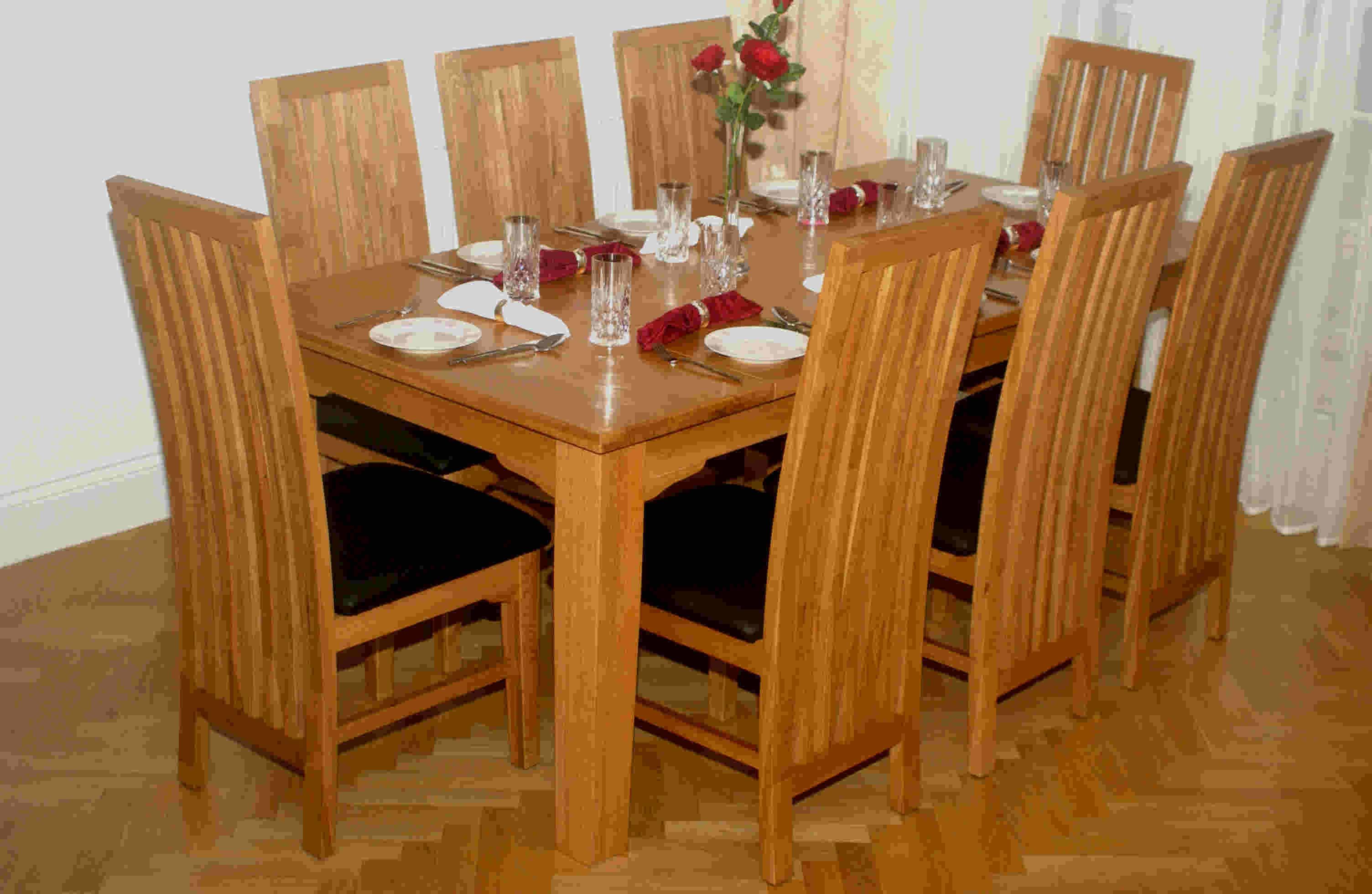 solid oak dining room furniture buy oak furniture furniture dining room sets product on. Black Bedroom Furniture Sets. Home Design Ideas