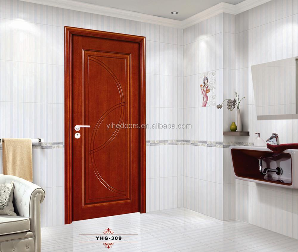 Solid Core Mdf Raised Panel Interior Indoor Wood Door